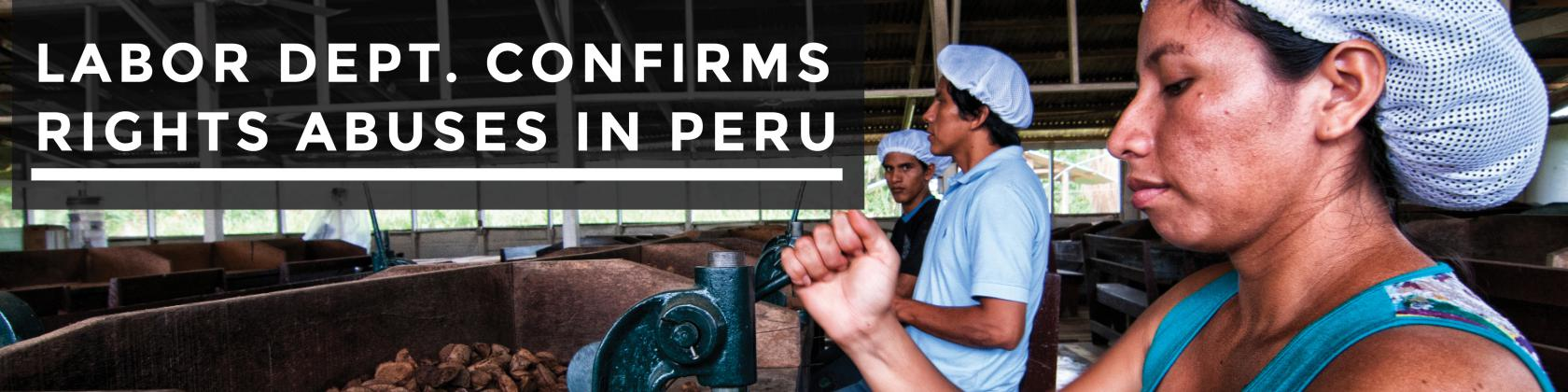 Workers process Brazil nuts in a Peruvian factory. Photo Credit: CC BY-NC 2.0, Photo by Marco Simola for Center for International Forestry Research (CIFOR)