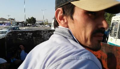 Gaspar Matalaev reporting on Turkmenistan's cotton harvest.