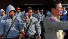 Cambodian trafficking victims return home