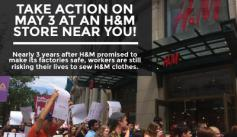 H&M Action Graphic